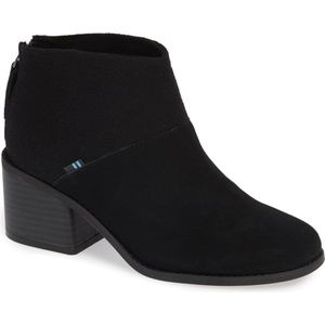 Toms Lacy Bootie Size Womens 9